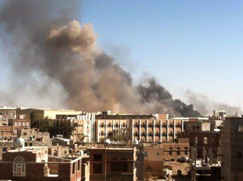 قصف صنعاء