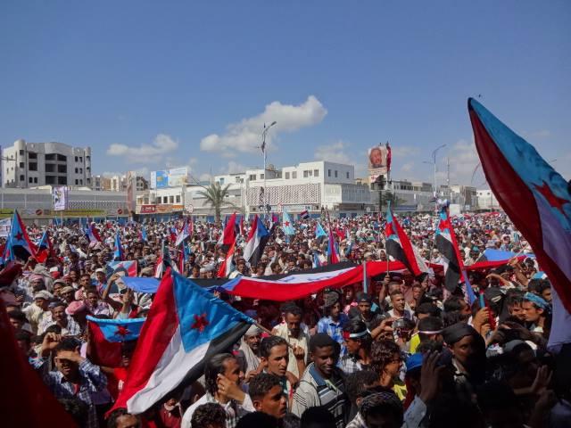 روسيا اليوم تظاهرة مليونية للحراك الجنوبي في ذكرى الاستقلالaa