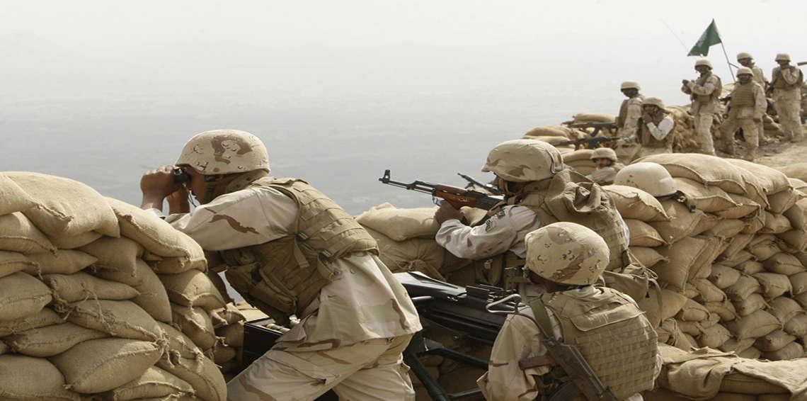 جنود سعوديون يقتحمون مشفى ميدانيًا للحوثيين على الحدود مع اليمنaa