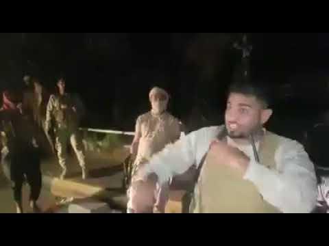 بالفيديو / لحظات ما قبل الهجمة الاخيرة لقوات مكافحة الارهاب في البحث الجنائي بعدنaa