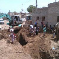 مدير عام مديرية الشيخ عثمان يشيد بالجهود المبدولة لاستكمال مشروع الصرف الصحي للمحاريق