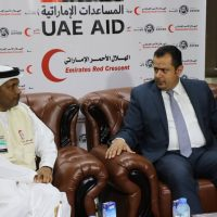 وزير الأشغال يبحث مع الهلال الاحمر الإماراتي مجالات التعاون المشترك