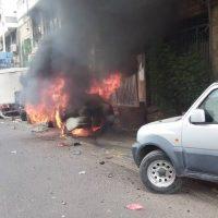 عاجل : عدن .. انفجار سيارة في الشارع الرئيسي بالمعلا