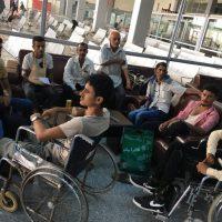 مكتب جبهة الساحل الغربي بعدن يسفر دفعة جديدة من الجرحى للعلاج في مستشفيات مصر